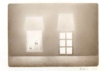 藤沢彦二郎鉛筆画展