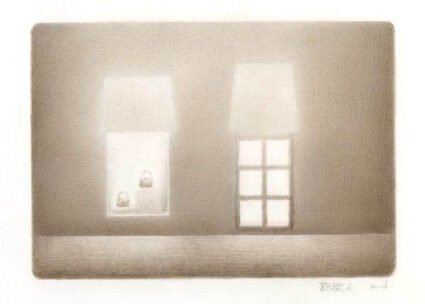 藤沢彦二郎鉛筆画展画像